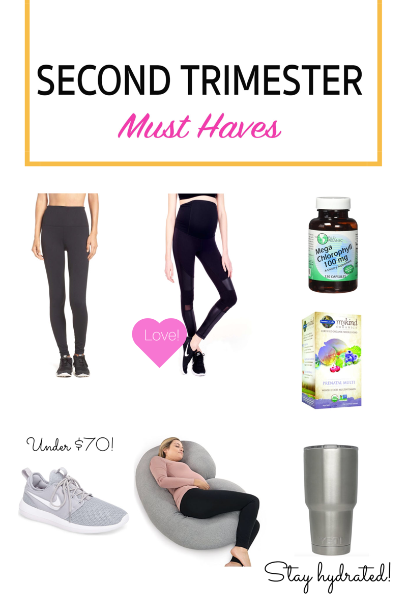 second trimester must haves Happily Lindsey