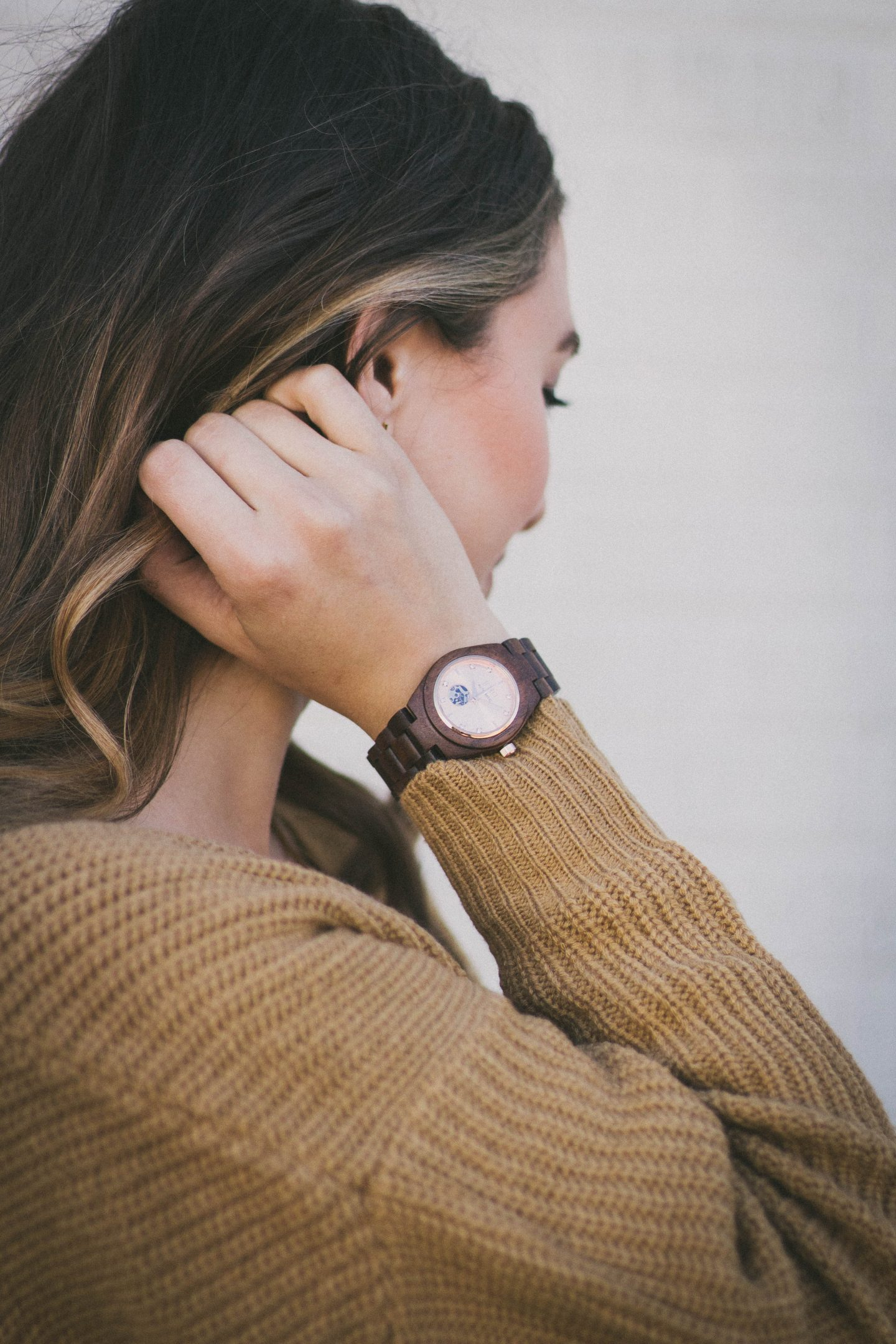 JORD unique wooden watch for men and women Valentine's Day Happily Lindsey