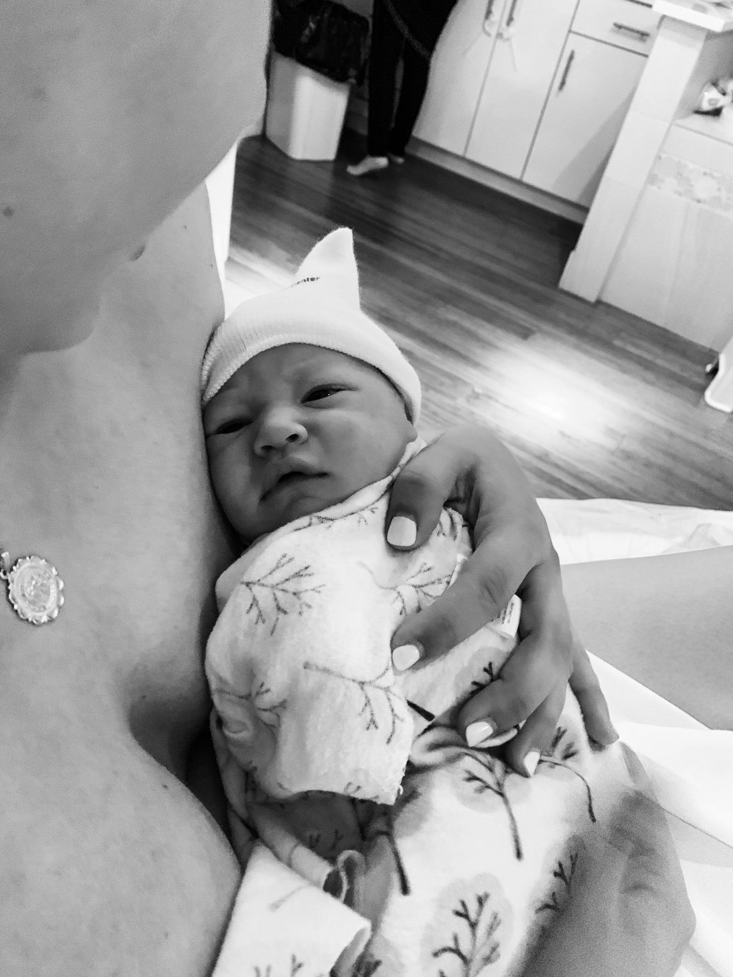 Luna's birth story, unmedicated birth, natural birth, pregnancy after loss, rainbow baby, rainbow pregnancy